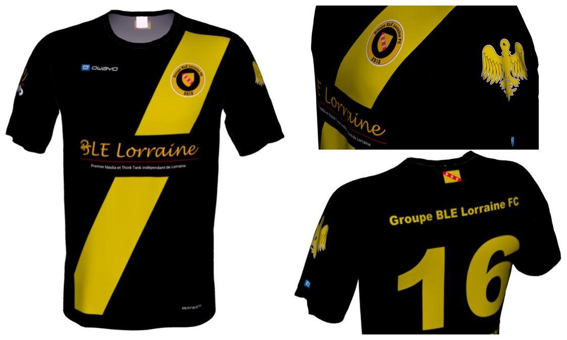 Maillot GBL FC vues